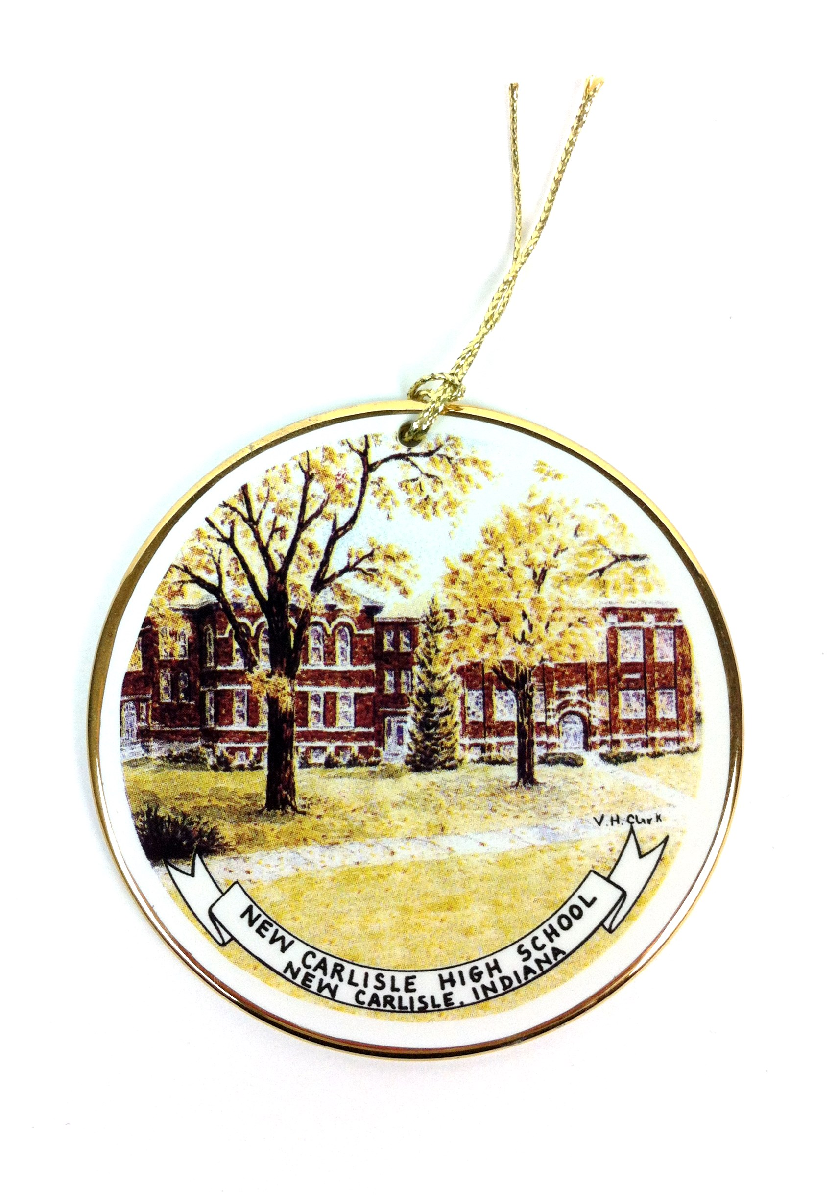 New Carlisle High School Medallion